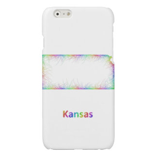 Rainbow Kansas map