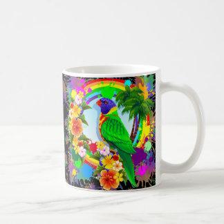 Rainbow Lorikeet Parrot Mugs