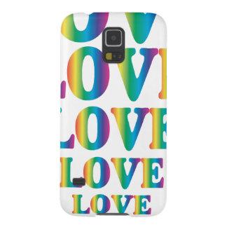 Rainbow Love Galaxy S5 Case