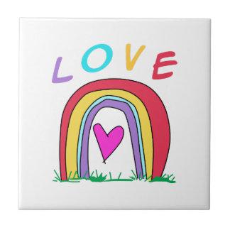 RAINBOW LOVE TILE