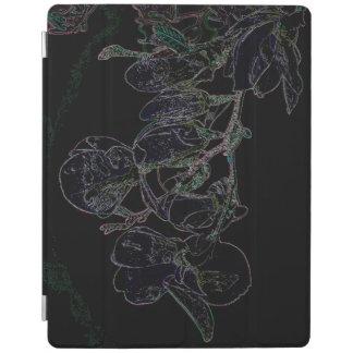 Rainbow Magnolia iPad Cover