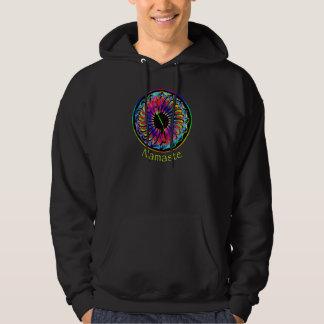 Rainbow Mandala, Sumi Style Hoodie