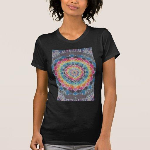 Rainbow Mandala Tie Dye PhatDyes T Shirts