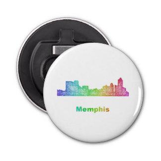 Rainbow Memphis skyline Bottle Opener