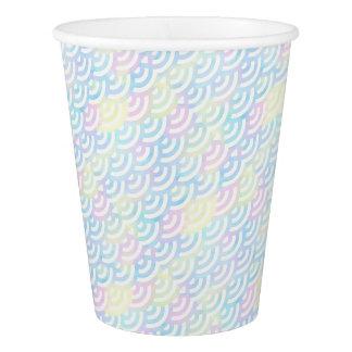 Rainbow Mermaid Pastel Paper Cup