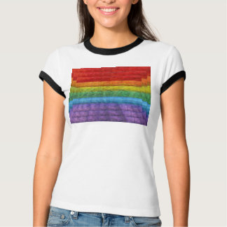 Rainbow Mosaic Gay Pride Flag T-Shirt