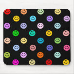Rainbow Multicolor Smiley Face Pattern