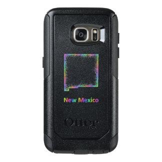 Rainbow New Mexico map OtterBox Samsung Galaxy S7 Case