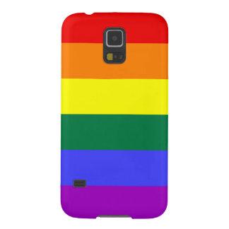 Rainbow Pride Flag Galaxy S5 Case