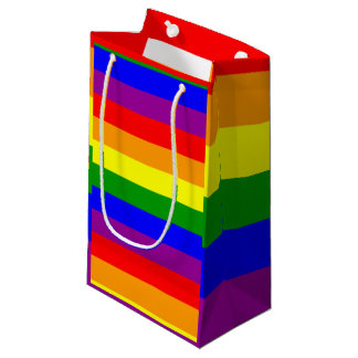Rainbow Pride Flag Gift Bag