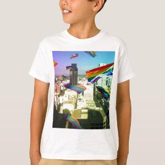 Rainbow Pride over Sacramento T-Shirt
