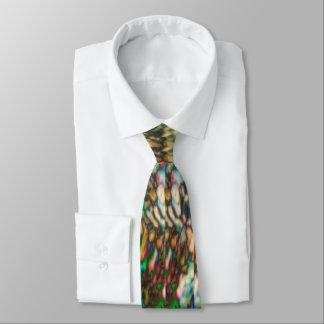 Rainbow Psychedelic Neck tie- super bright! Tie