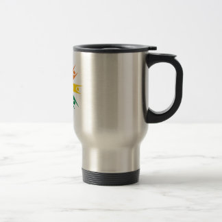 Rainbow Ring of Humanists Stainless Steel Travel Mug