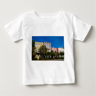 Rainbow Row Charleston, SC Baby T-Shirt