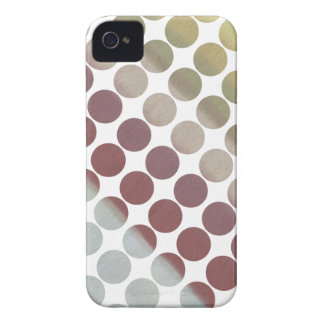 Rainbow Sky Dots Series iPhone 4 Case