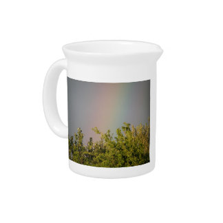 Rainbow Sky Pitcher