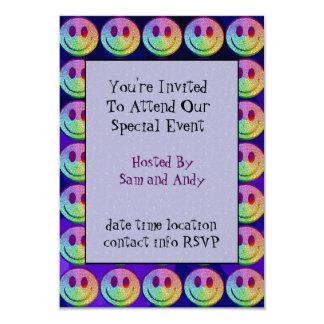 Rainbow Smiley Card
