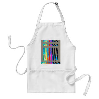 Rainbow Spectrum Color Band Waterfall Apron