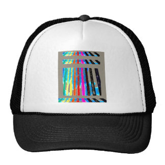 Rainbow Spectrum Color Band Waterfall Trucker Hat