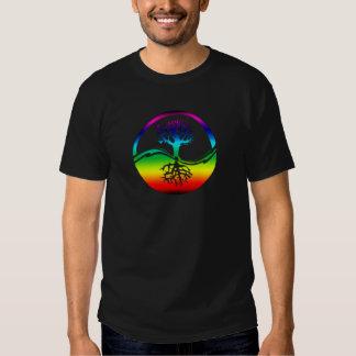 Rainbow Spirit Tree (Balance) Shirts