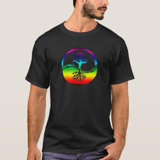 Rainbow Spirit Tree (Balance) T-Shirt