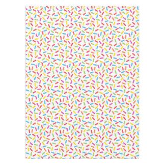 Rainbow Sprinkles Tablecloth