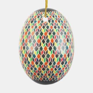 Rainbow Star Egg Ornament