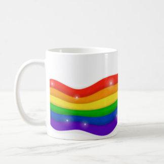 Rainbow & Stars Coffee Mug