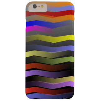 Rainbow stripes barely there iPhone 6 plus case
