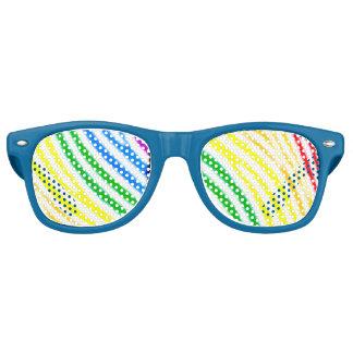 Rainbow Stripes Party Shades