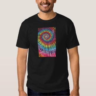 Rainbow Swirl Tie Dyes Tee Shirts