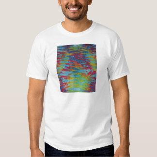 Rainbow Tiger Stripes Tie Dye PhatDyes Tshirt