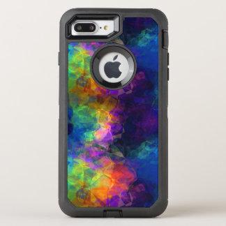 Rainbow Tissue Paper Colorful Collage OtterBox Defender iPhone 8 Plus/7 Plus Case
