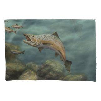 Rainbow Troute Pillowcase
