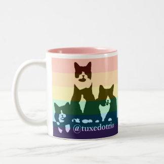 Rainbow TuxedoTrio mug