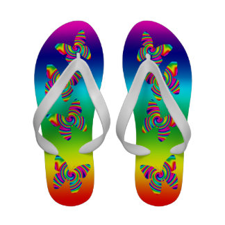 Rainbow Twirl Butterfly Sandals