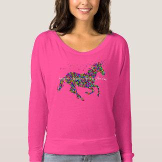 Rainbow Unicorn Awesome T-Shirt