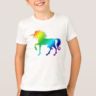 Rainbow Unicorn Kids Tee
