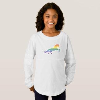 Rainbow Unicorn lgbt Jersey Shirt