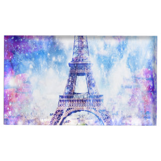 Rainbow Universe Paris Table Card Holder