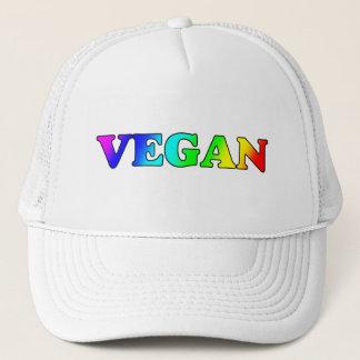 Rainbow Vegan Trucker Hat