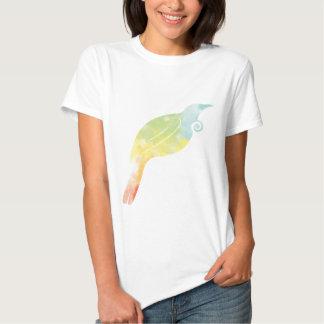 Rainbow Water Colour Tui Shirt