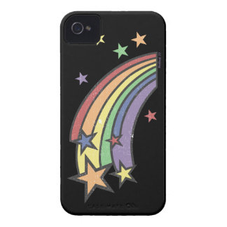 Rainbow with Stars iPhone 4 Case