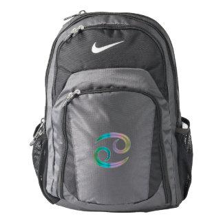 Rainbow Zodiac Sign Cancer Backpack