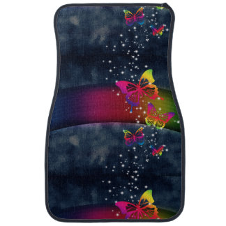 Rainbows n Butterflies Floor Mat