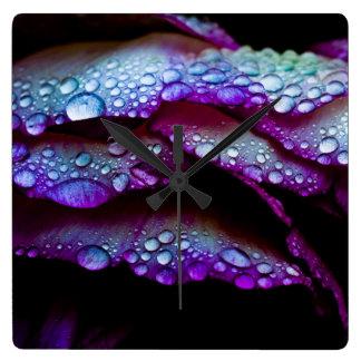 Raindrops clock