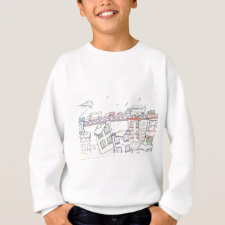 Raining Eggs II Sweatshirt