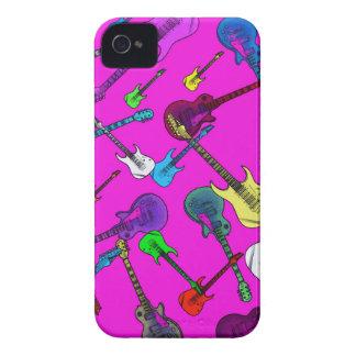 Raining Guitars iPhone 4 Covers