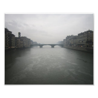 Rainy Day in Florence, Italy Photo Print