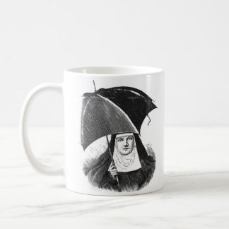 Rainy Day Nun Coffee Mug